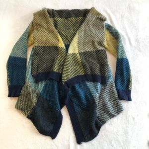 Still Benetton draped sweater cardigan